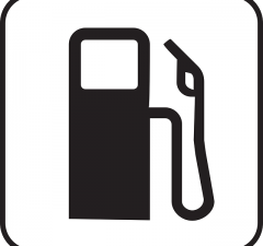 Petrol-Station-sign-vector-free